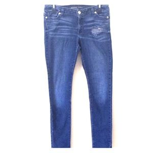Michael Kors Distressed Skinny Jeans Size 8